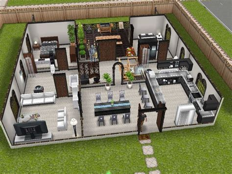 7 best sims house plans images on pinterest homes floor 13 best images about the sims freeplay house design ideas