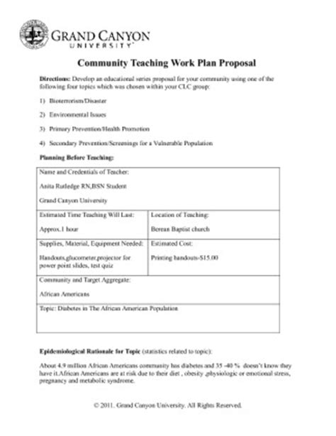 Recreation Program Proposal Download Free Networkingfiles Recreation Program Template