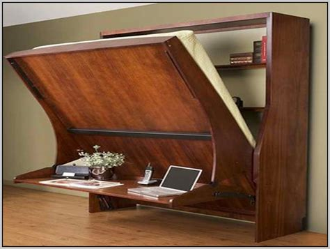 queen wall bed with desk murphy bed with desk ikea desk home design ideas