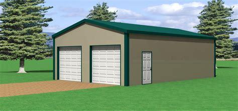 24x36 Garage Plans by 24 W X 36 L Pole Barn