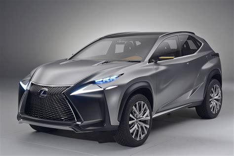 lexus compact car new lexus lf nx suv concept photo gallery autocar india