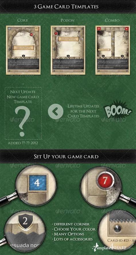 Trading Card Template Psd by Graphicriver Tcg Trading Card Kit In