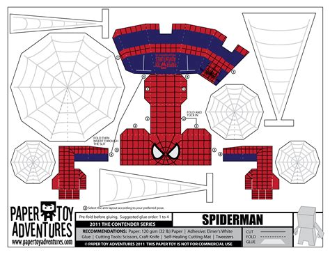 Spider Papercraft - image gallery spider papercraft