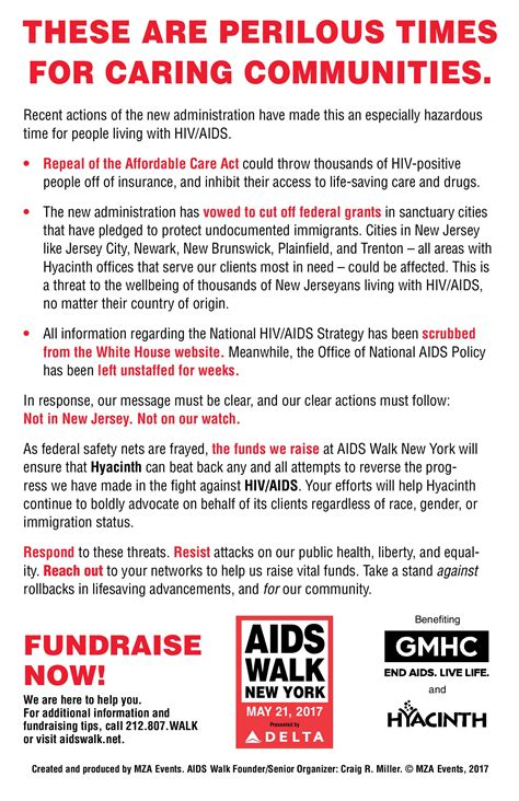Commitment Letter For State Sponsorship Tools Aids Walk New York