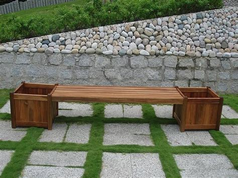 bench with flower box bench and flower box combo trips mothers and nice