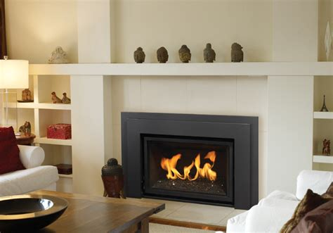 Contemporary Fireplace Inserts Gas Regency Horizon Hzi390e Modern Gas Fireplace Insert