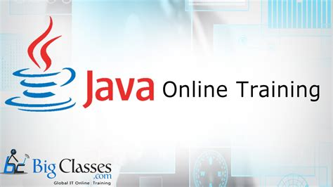 online tutorial in java java online training class java tutorial and development