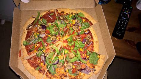 domino pizza no vegan pizza from dominos vegan forum