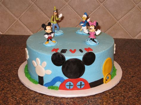 mickey mouse cake decoration ideas  birthday cakes