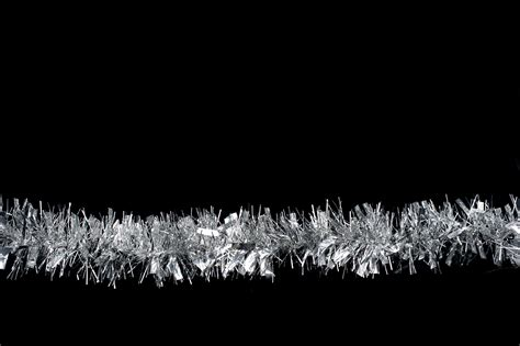 free stock photo 4707 christmas tinsel on black