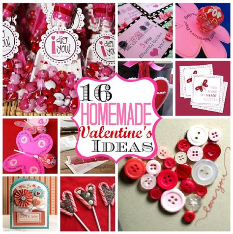 Handmade Valentines Presents - 16 valentine s ideas