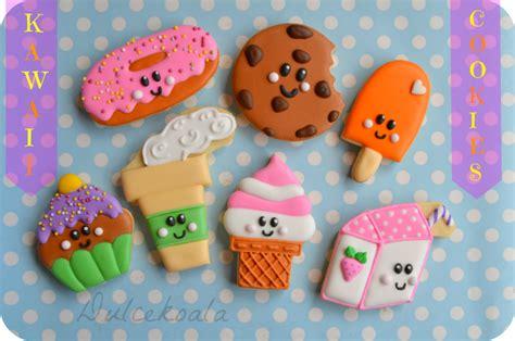 imagenes de galletas kawaii dulcekoala galletas decoradas y otros dulces dulces