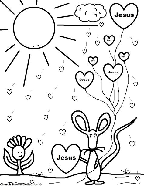 a day in the of cats coloring book volume 1 books mouse holding jesus balloons coloring page