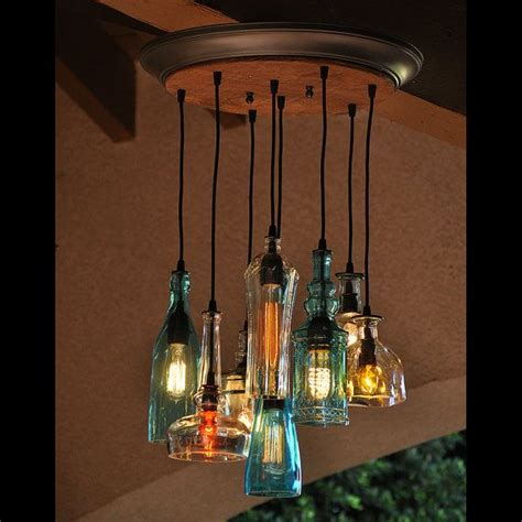 Recycled Chandelier Ideas Best 25 Bottle Chandelier Ideas On Garage Cave Ideas With Pool Table