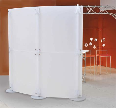 Glass Partition Walls For Home Floor Mounted Desk Partition Plastic Design Fluowall Open