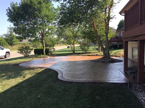 sted concrete patio with pit patio pavers wichita ks 28 images patio pavers patio