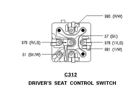 1997 ford mustang gt power seat switch wiring wiring diagram