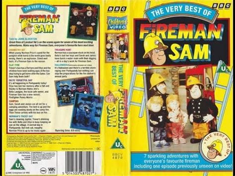 best of 1992 the best of fireman sam vhs 1992