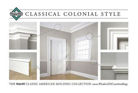 Colonial Molding Classical Colonial Molding Room 1 Kartinki Pinterest