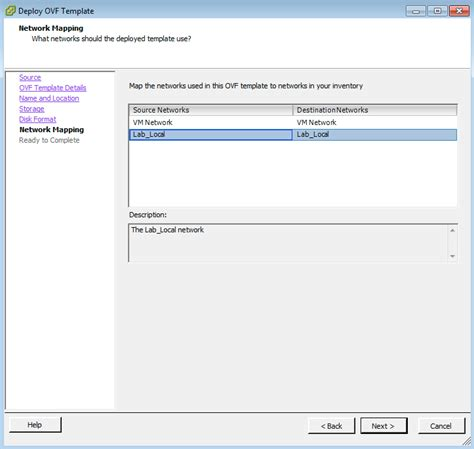 ovf template how to import your vmware autolab back to the