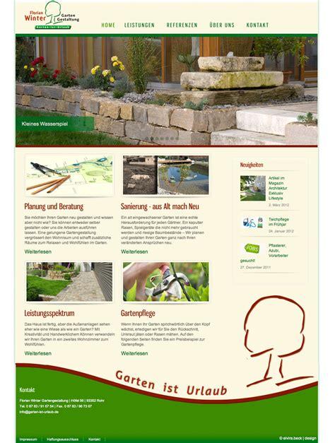 re design webseite winter gartenbau rohr elvira beck - Winter Gartenbau