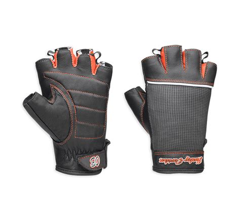 harley davidson women s cora gloves review leather and mesh cora leather mesh fingerless gloves 98296 14vw