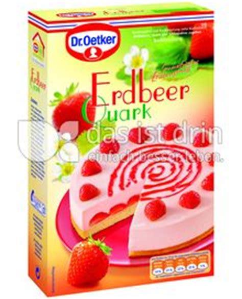 heidelbeer quark kuchen dr oetker dr oetker erdbeer quark kuchen 182 0 kalorien kcal und