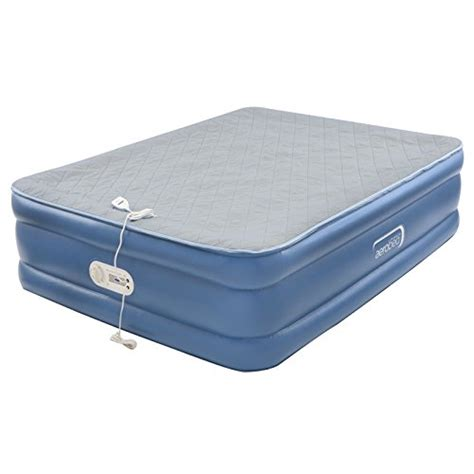 air mattresses aerobed quilted foam topper air mattress