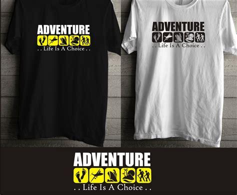 Kaos Adventure Travel sribu desain seragam kantor baju kaos design kaos distro