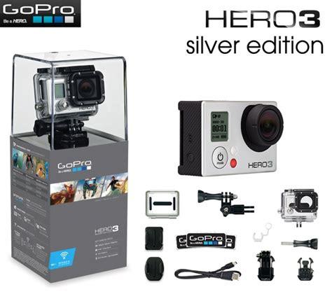 Kamera Gopro 3 Silver gopro 3 silver edition kamera