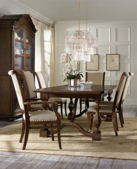 hooker dining room sets hooker furniture classique dining room collection