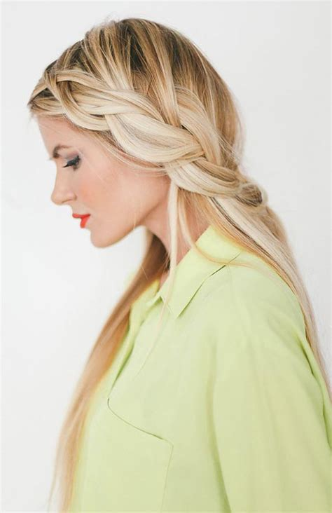 loose braids pictures pretty hairstyles for dirty hair days fashionisers