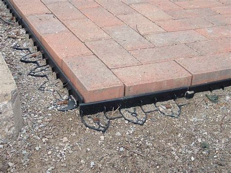 Paver Patio Edging Options How To Build Patio With Pavers Patio Design Ideas