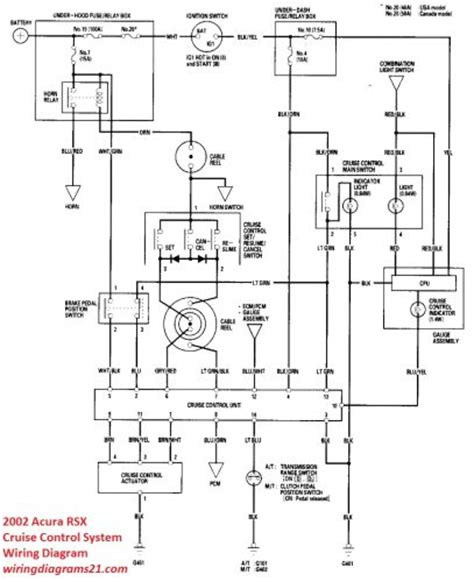 acura rsx stereo wiring diagram wiring diagram for 1997