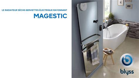 seche serviette castorama electrique 4407 s 232 che serviettes 233 lectrique magestic blyss 638203
