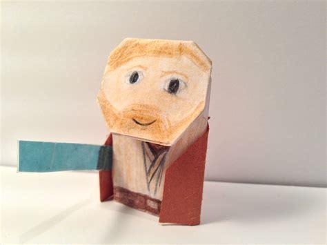 How To Fold Origami Obi Wan Kenobi - foldmastertn s obi fold kenobi origami yoda