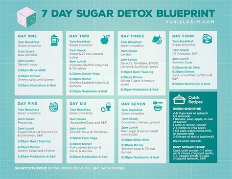 Easy Detox Plan Uk by Sugar Detox Plan A 10 Step Blueprint For Quitting Sugar