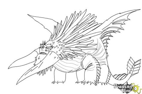 alpha dragon coloring page how to draw bewilderbeast from how to train your dragon 2