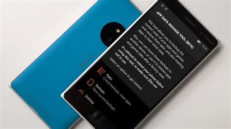 backup mobile come salvare i dati di app e giochi dei windows 10 mobile