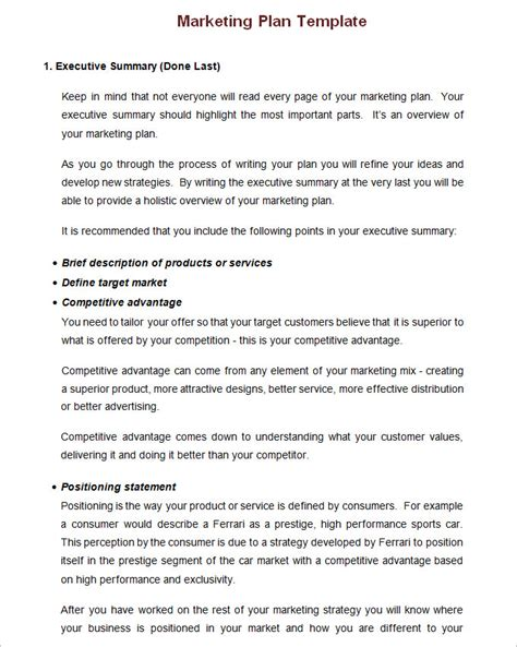 Annual Marketing Plan Template Free Word Pdf Documents Download Free Premium Templates Business Plan Template For Marketing Company