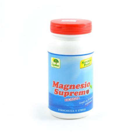magnesio supremo stitichezza magnesio supremo integratore alimentare da 150 gr