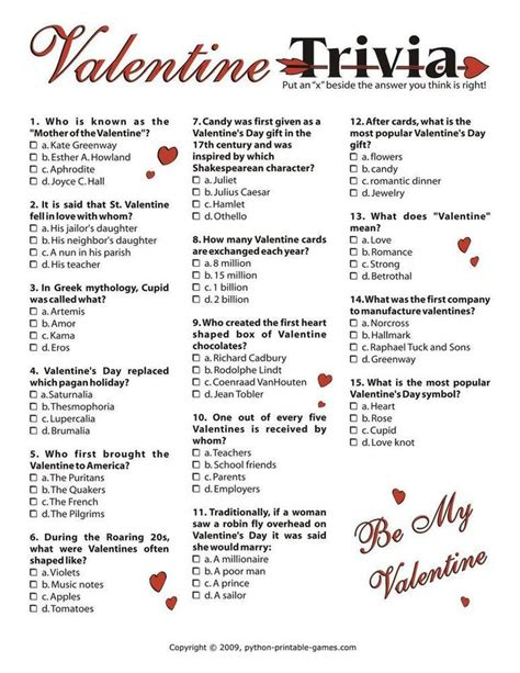 valentines trivia questions s day trivia i 3 95 s day