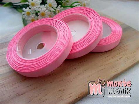 Pita Variasi 3 8cm pita satin 3 8 atau 1 cm pink pita 099 montemanik pusat bahan dan perlengkapan