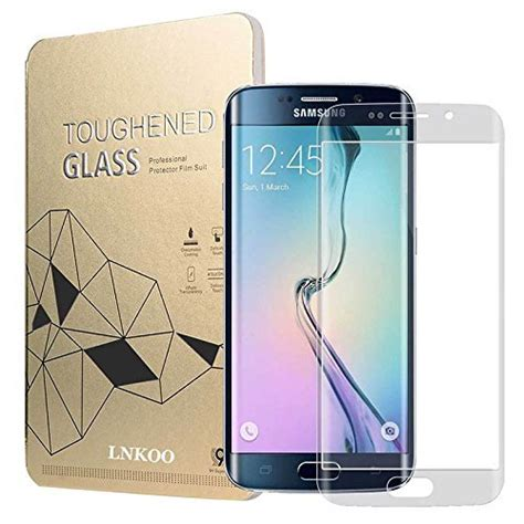 Tempered Glass Samsung S6 Edge Curved Transparan s6 edge tempered glass curved storeiadore