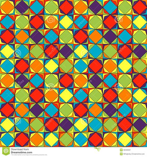 pattern pop art stained glass pop art pattern stock vector illustration