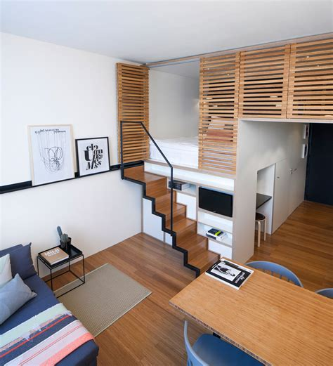 loft beds for studio apartments 4 awesome small studio apartments with lofted beds