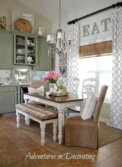 kitchen table decor ideas decorating ideas eat in kitchen for the home