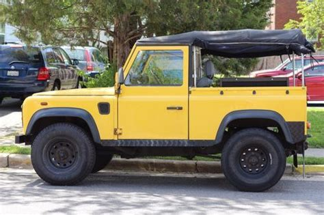 how to sell used cars 1986 land rover range rover electronic valve timing find used 1986 landrover 90 tdi in alexandria virginia united states