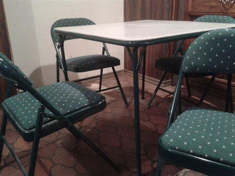 amazon card table chairs rider green card table and chairs less than half price