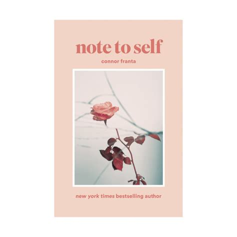 note to self affirmations to books note to self by connor franta book kmart